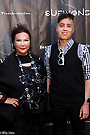 Iconic designer Sue Wong's Birthday Red Carpet  Celebrity Celebration with son Josh Homann