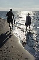 Bei Kap Kolka (Kolkasrags), Lettland, Europa