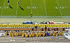 Sept. 22, 2012; Stadium Ushers meet before the gates open...Photo by Matt Cashore/University of Notre Dame
