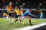 Harry Forrester slammed into the boards by Mark Docherty