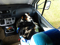 Molly Montana in the co-pilot's seat.