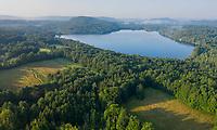 Stockbridge bowl lake, near Tangleood, Lenox, Berkshire hills, MA
