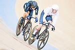 Maximilian Beyer of Germany competes on the Men's Omnium Scratch during the 2017 UCI Track Cycling World Championships on 15 April 2017, in Hong Kong Velodrome, Hong Kong, China. Photo by Marcio Rodrigo Machado / Power Sport Images
