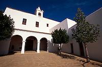 Kirche Sant Miguel de Balansat, Ibiza, Balearen, Spanien