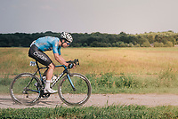 """Wout Van Aert (BEL/Veranda's Willems-Crelan) chasing the race leaders<br /> <br /> Antwerp Port Epic 2018 (formerly """"Schaal Sels"""")<br /> One Day Race:  Antwerp > Antwerp (207 km; of which 32km are cobbles & 30km is gravel/off-road!)"""
