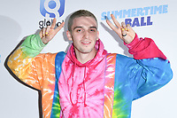 Lauv<br /> poses on the media line before performing at the Summertime Ball 2019 at Wembley Arena, London<br /> <br /> ©Ash Knotek  D3506  08/06/2019