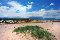 SC - Prov.AYRSHIRE<br /> Coastline of Ardrossan on the Firth of Clyde near Kilbride. View over the Sound of Bute to the Isle of Arran<br /> <br /> Full size: 69,2 MB