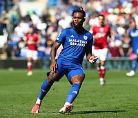28th August 2021; Cardiff City Stadium, Cardiff, Wales;  EFL Championship football, Cardiff versus Bristol City; Leandro Bacuna of Cardiff City
