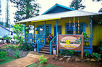 Pele's other Garden is a quaint deli and bistro located near the center Lanai City. It's a great place to relax with a cool drink and a tasty sandwich.