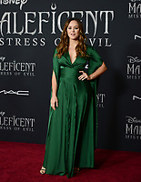 """LOS ANGELES, USA. September 30, 2019: Hayley Orrantia at the world premiere of """"Maleficent: Mistress of Evil"""" at the El Capitan Theatre.<br /> Picture: Jessica Sherman/Featureflash"""