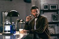 Nov 24 David Beckham filming advert for Haig Club