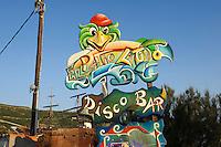 Disco in Bosa,  Provinz Oristano, West - Sardinien, Italien