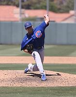Burl Carraway - Chicago Cubs 2021 spring training (Bill Mitchell)