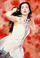 Fantasy fashion - digitally enhanced photography.
