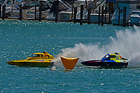 """Frame 10: Andrew Tate, H-300 """"Pennzoil"""", Donny Allen, H-14 """"Legacy 1""""       (H350 Hydro)"""