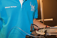 Februari 09, 2015, Netherlands, Rotterdam, Ahoy, ABN AMRO World Tennis Tournament, Tecnifibre<br /> Photo: Tennisimages/Henk Koster