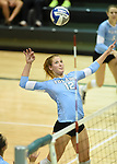 Tulane Women's Volleyball downs Houston, 3-1, in  action at Devlin Fieldhouse.