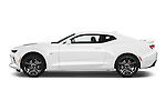 Car Driver side profile view of a 2018 Chevrolet Camaro 2SS 2 Door Coupe Side View