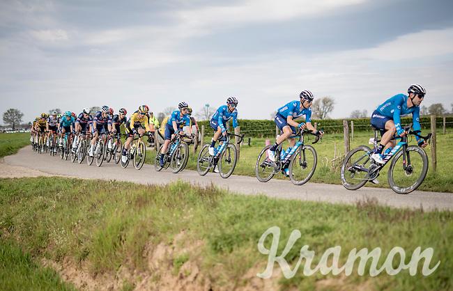 Alejandro Valverde (ESP/Movistar)<br /> <br /> 55th Amstel Gold Race 2021 (1.UWT)<br /> 1 day race from Valkenburg to Berg en Terblijt; raced on closed circuit (NED/217km)<br /> <br /> ©kramon