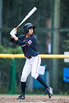 #24 Ikemoto Ayuri of Japan bats during the BFA Women's Baseball Asian Cup match between Pakistan and Japan at Sai Tso Wan Recreation Ground on September 4, 2017 in Hong Kong. Photo by Marcio Rodrigo Machado / Power Sport Images