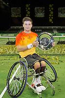Rotterdam, The Netherlands, February 13, 2016,  ABNAMROWTT, Gordon Reid (GBR)<br /> Photo: Tennisimages/Henk Koster