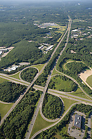 Rt. 495 and Rt. 9 intersection, Southborough, MA