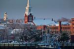 Winter sunrise in Newburyport, MA