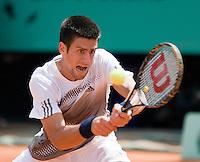 25-5-08, France,Paris, Tennis, Roland Garros, Novak Djokovic