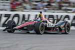 Schmidt Peterson Motorsports driver Robert Wickens (6) of Canada in action during the DXC Technology 600 race at Texas Motor Speedway in Fort Worth,Texas.
