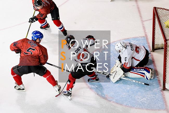 Tokyo Egoists vs Empire Skate during the Mega Ice Hockey 5s match on May 04, 2018 in Hong Kong, Hong Kong. Photo by Marcio Rodrigo Machado / Power Sport Images