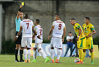 MEDELLÍN- COLOMBIA, 17-04-2018:Heider Castro referee central.Acción de juego entre los equipos  Leones de Itaguí y el Deportes Tolima durante partido por la fecha 16 de la Liga Águila I 2018 jugado en el estadio Metropolitano Ciudad de Itagui. / Central referee Heider Castro.  Action game between Leones of Itagui  and  Deportes Tolima during the match for the date 16 of the Liga Aguila I 2018 played at the Metropolitano ciudad de Itagui. Photo: VizzorImage / León Monsalve / Contribuidor