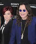 Sharon Osbourne and Ozzy Osbourne at The Columbia Pictures' Premiere of Total Recall held at The Grauman's Chinese Theatre in Hollywood, California on August 01,2012                                                                               © 2012 Hollywood Press Agency