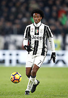 Calcio, Serie A: Torino, Juventus Stadium, 5 febbraio 2017.<br /> Juventus' Juan Cuadrado in action during the Italian Serie A football match between Juventus and Inter Milan at Turin's Juventus Stadium, on February 5, 2017.<br /> UPDATE IMAGES PRESS/Isabella Bonotto