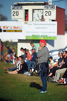 Action from the Wairarapa Bush club rugby match between Carterton and Marist at Carterton Park, Carterton, New Zealand on Saturday, 7 May 2016. Photo: Dave Lintott / lintottphoto.co.nz