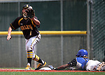 during NIAA DI baseball action at Bishop Manogue High School, in Reno, Nev., on Friday, May 20, 2016. Cathleen Allison/Las Vegas Review-Journal