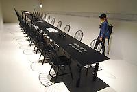 Milan Expo 2015<br /> EXPO 2015, Japan Pavilion, room dedicated to kitchen design. <br /> EXPO 2015. Padiglione Giappone, sala dedicata al design in cucina.<br /> Photo Livio Senigalliesi