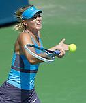 Maria Sharapova (RUS) defeats Anastasia Pavlyuchenkova (RUS) 6-4, 7-6 at the Western & Southern Open in Mason, OH on August 14, 2014.