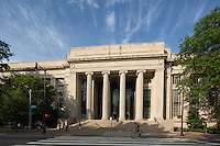 MIT entrance to Rogers Building, Cambridge, MA Mass Institute of Technology