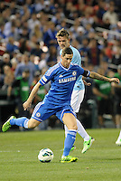 Fernando Torres (9) Chelsea in action..Manchester City defeated Chelsea 4-3 in an international friendly at Busch Stadium, St Louis, Missouri.