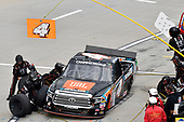 #4: Todd Gilliland, Kyle Busch Motorsports, Toyota Tundra JBL/SiriusXM, makes a pit stop