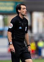 Referee Jarred Gillett<br /> <br /> Photographer Alex Dodd/CameraSport<br /> <br /> The EFL Sky Bet Championship - Huddersfield Town v Wigan Athletic - Saturday 20th June 2020 - John Smith's Stadium - Huddersfield <br /> <br /> World Copyright © 2020 CameraSport. All rights reserved. 43 Linden Ave. Countesthorpe. Leicester. England. LE8 5PG - Tel: +44 (0) 116 277 4147 - admin@camerasport.com - www.camerasport.com