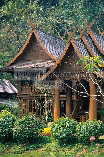 "Asie/Thaïlande/Env de Chiang Mai : Jardin et Spa de la ""Suan Bua Thani Resort"""
