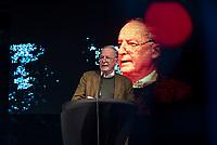 """AfD-Wahlkampfkundgebung in Magdeburg.<br /> Ca. 350 Menschen kamen zu einer Wahlkampfkundgebung der rechtsnationalistischen Alternative fuer Deutschland (AfD). Waehrend der Reden von Alexander Gauland, Bjoern Hoecke und lokalen AfDlern skandierten sie Parolen wie """"Volksverraeter"""" und """"Wir sind das Volk"""" gegen """"Die da oben"""".<br /> Im Bild: Alexander Gauland, Fraktionsvorsitzender der AfD Brandenburg.<br /> 13.9.2017, Magdeburg<br /> Copyright: Christian-Ditsch.de<br /> [Inhaltsveraendernde Manipulation des Fotos nur nach ausdruecklicher Genehmigung des Fotografen. Vereinbarungen ueber Abtretung von Persoenlichkeitsrechten/Model Release der abgebildeten Person/Personen liegen nicht vor. NO MODEL RELEASE! Nur fuer Redaktionelle Zwecke. Don't publish without copyright Christian-Ditsch.de, Veroeffentlichung nur mit Fotografennennung, sowie gegen Honorar, MwSt. und Beleg. Konto: I N G - D i B a, IBAN DE58500105175400192269, BIC INGDDEFFXXX, Kontakt: post@christian-ditsch.de<br /> Bei der Bearbeitung der Dateiinformationen darf die Urheberkennzeichnung in den EXIF- und  IPTC-Daten nicht entfernt werden, diese sind in digitalen Medien nach §95c UrhG rechtlich geschuetzt. Der Urhebervermerk wird gemaess §13 UrhG verlangt.]"""