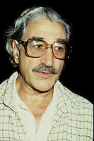 Montreal (Qc) CANADA -File photo (between 1984 and 1999) - Michel Chartrand.<br /> <br /> Michel Chartrand (December 20, 1916 – April 12, 2010) was an union activist and leader from Quebec