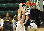 Tulane defeats Tennessee Tech, 73-68, in basketball action at Devlin Fieldhouse.