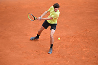 12th April 2021; Roquebrune-Cap-Martin, France;  Ugo Humbert during practise sessions for the  Rolex Monte Carlo Masters