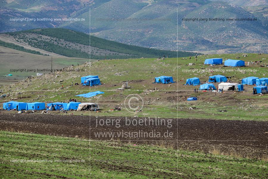 TURKEY, near syrian border, syrian refugees, inofficial refugee camp