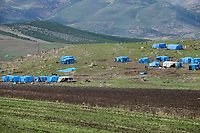 TURKEY, near syrian border, syrian refugees, inofficial refugee camp