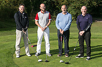 Team Actons - From left are Neil Wade, Simon Dakin, Dave Mantle and Colin Peacock