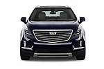 Car photography straight front view of a 2019 Cadillac XT5 Platinum 5 Door Suv Front View